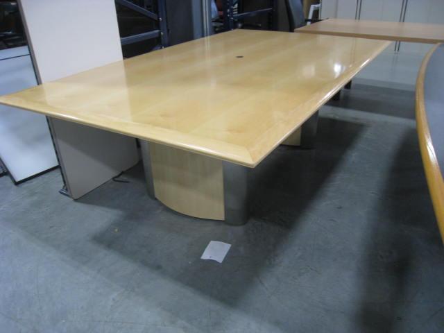 Wood Veneer Conference Table - Wood veneer conference table