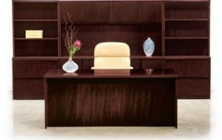 Jasper Desk Wood Veneer Desk, Basics 3 (entry level price)