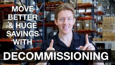 Huge Savings With Decommissioning