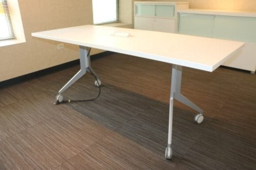 Haworth W X L Mobile Table - Haworth conference table