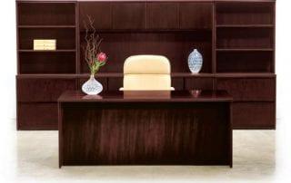 Jasper Desk Wood Veneer Desk, Basics 3 (entry level price)