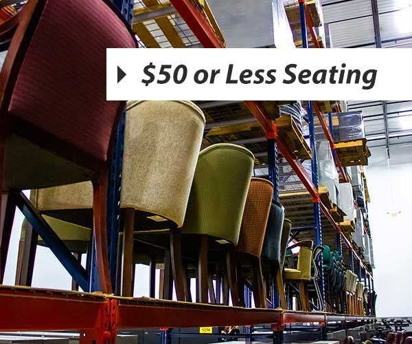 50 dollars or less seating